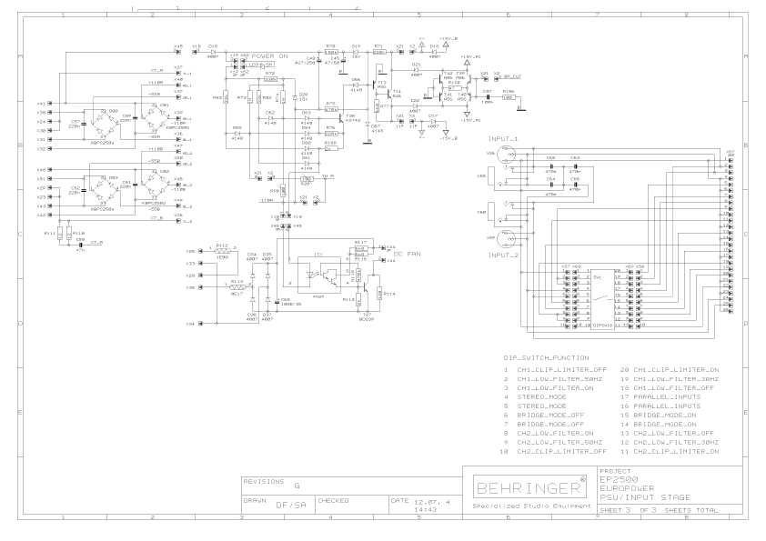 behringer ep2500 rh it mactep ru Behringer EP2500 Specs Behringer EP2500 Power Amp