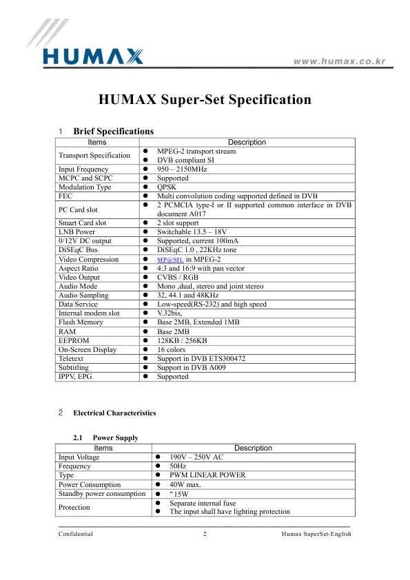 humax f1-va инструкция