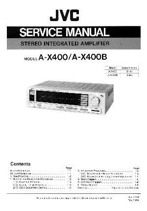 jvc a x400 инструкция