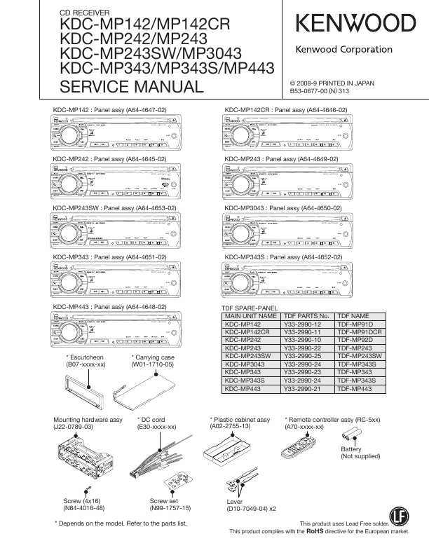 Сервисная инструкция Kenwood KDC-MP142, KDC-MP242, on car amplifier wiring diagram, kenwood kdc plug diagram, pioneer amp wiring diagram, car stereo wiring diagram, cd player wiring diagram, pioneer premier wiring diagram, marine stereo wiring diagram, head unit wiring diagram,
