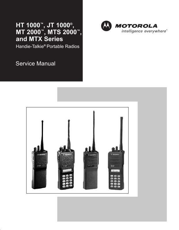 Motorola Ht1000 инструкция - фото 4
