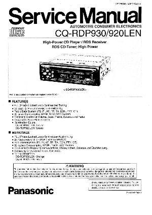 panasonic cq fx323w инструкция