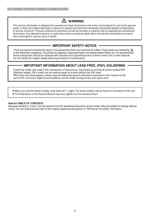 panasonic kx-tga107ru инструкция pdf