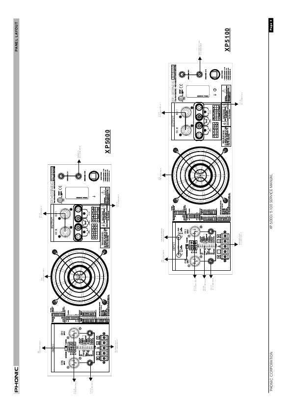 Phonic xp 5000 manual.
