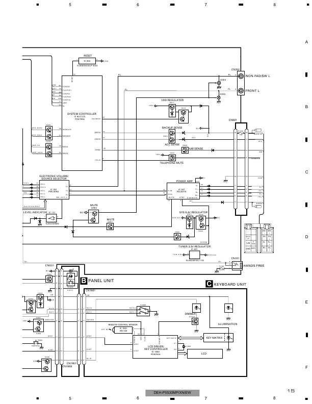 Схема автомагнитолы pioneer deh-1320mp