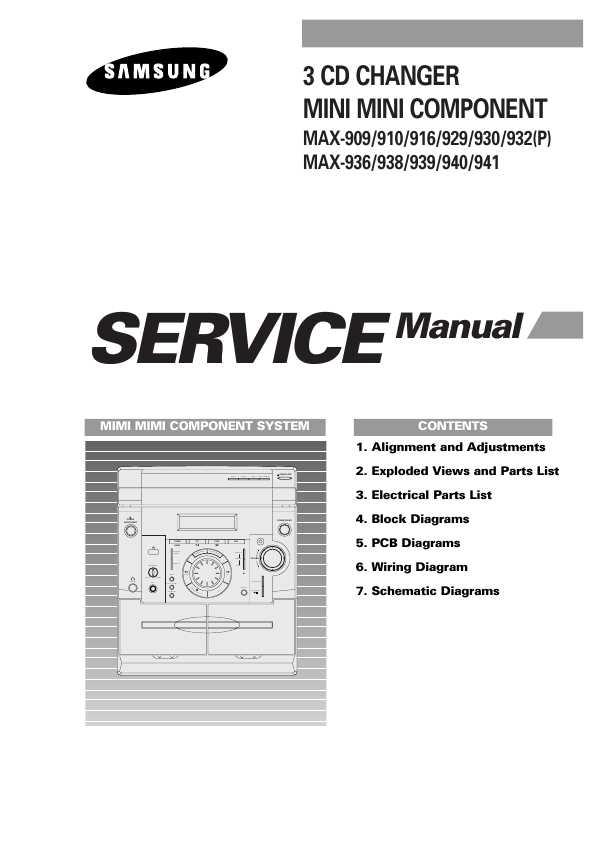 Samsung max-930 инструкция