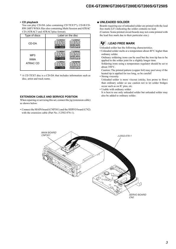 Cdx gt500ee схема - Подключаем