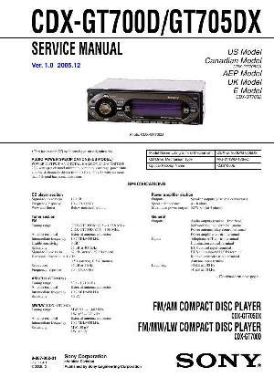 Sony cdx-gt700d инструкцию на