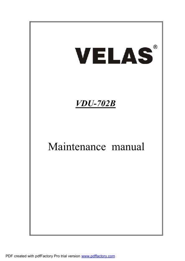 Инструкция для velas vdu-m901