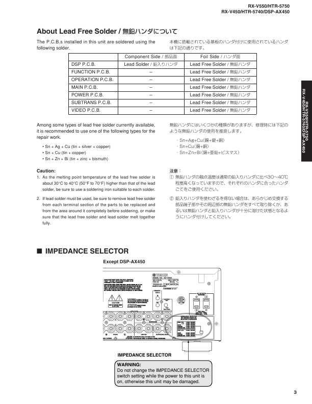 Yamaha Rx V550 инструкция на русском - фото 5